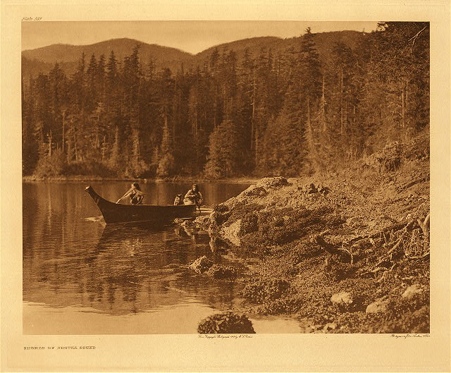 portfolio 11 plate no.389  Shores of Nootka Sound