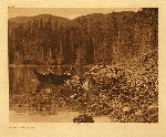 portfolio 11 plate no.389  Shores of Nootka Sound - photogravure plate