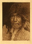 portfolio 11 plate no. 390 Nootka man - photogravure plate