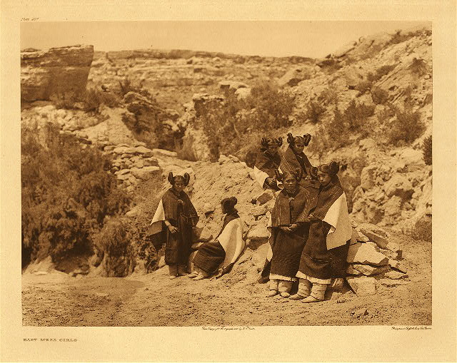 portfolio 12 plate no. 427 East mesa girls