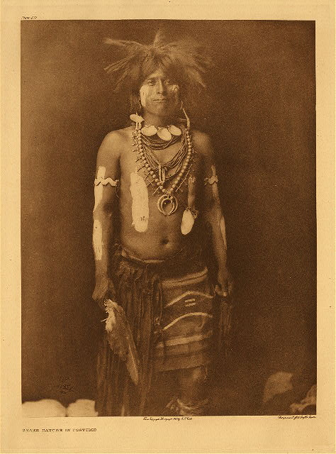 portfolio 12 plate no. 430 Snake dancer in costume