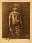 portfolio 12 plate no. 430 Snake dancer in costume - photogravure plate