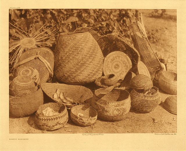 portfolio 13 plate no. 438 Karok baskets