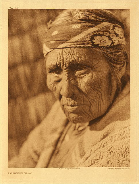 portfolio 13 plate no. 440 Old Klamath woman