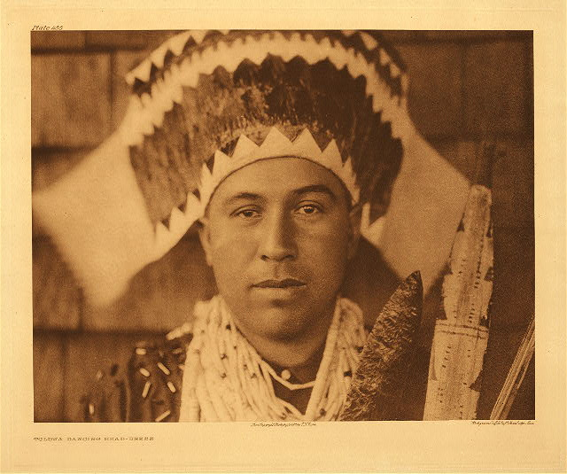 portfolio 13 plate no. 455 Tolowa dancing headdress