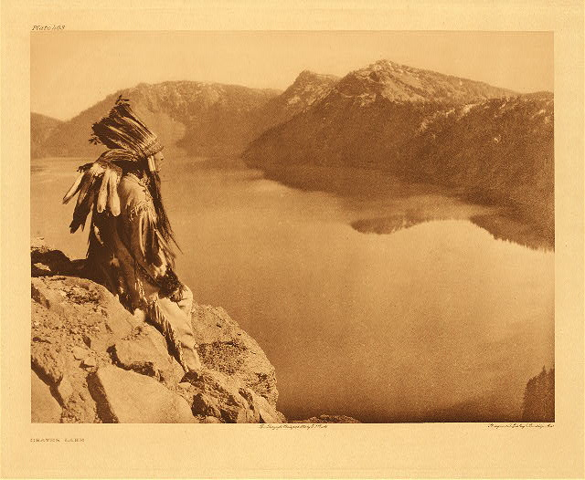 portfolio 13 plate no. 463 Crater Lake