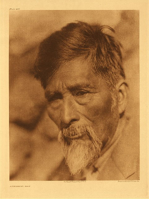 portfolio 13 plate no.466 Achomawi man