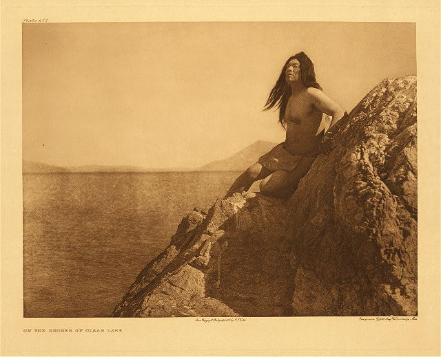 portfolio 14 plate no. 477 On the shores of Clear Lake