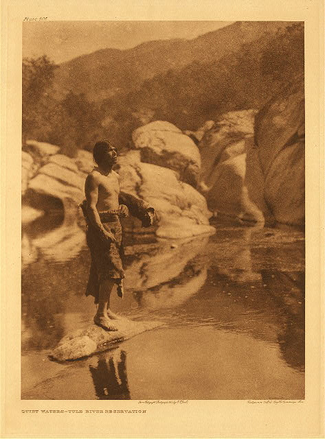 portfolio 14 plate no. 506 Quiet waters - Tule River Reservation