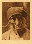 portfolio 15 plate no. 512 Serrano woman of Tejon - photogravure plate