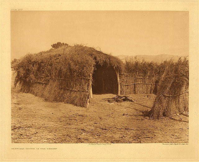 portfolio 15 plate no. 520 Cahuilla house in the deserti
