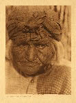 portfolio 15 plate no. 527 Diegueño woman of Santa Ysabel - photogravure plate