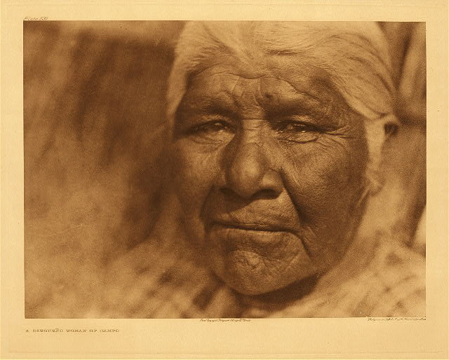 portfolio 15 plate no. 530 Diegueño woman of Campo