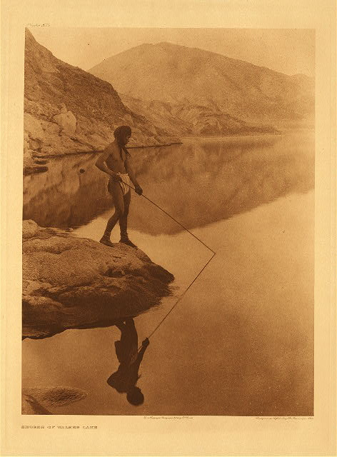 portfolio 15 plate no. 534 Shores of Walker Lake