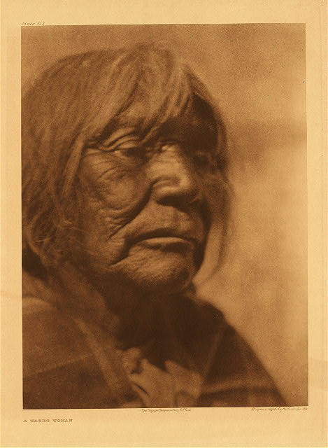 portfolio 15 plate no. 543 Washo woman