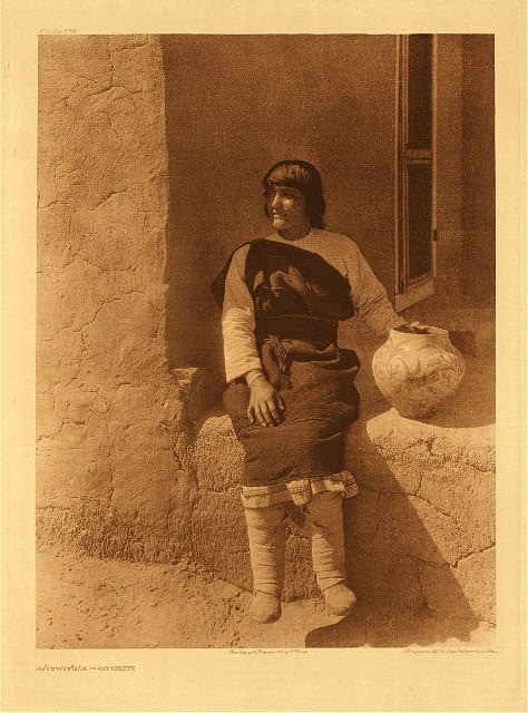 portfolio 16 plate no. 556 Aiyowitsa &ndash; Cochiti