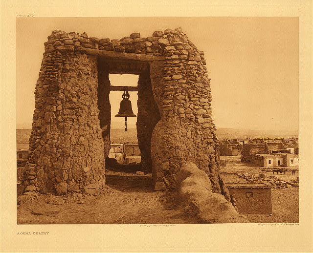 portfolio 16 plate no. 564 Acoma belfry