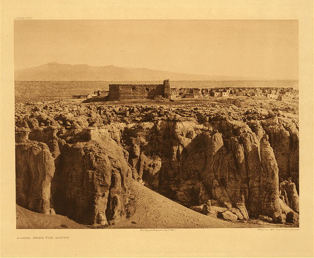 portfolio 16 plate no. 566 Acoma from the south