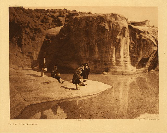 portfolio 16 plate no. 568 Acoma water carriers
