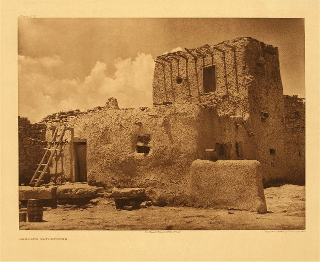 portfolio 16 plate no. 579 Paguate watchtower