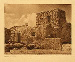 portfolio 16 plate no. 579 Paguate watchtower - photogravure plate