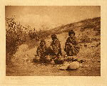 portfolio 17 plate no. 598 Gossiping - San Juan - photogravure plate
