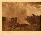 portfolio 17 plate no. 603 Pottery burners at Santa Clara - photogravure plate