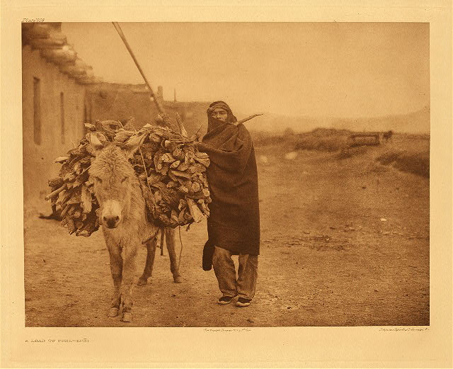 portfolio 17 plate no. 608 Load of fuel – Zuni
