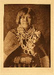 portfolio 17 plate no. 613 Zuni girl - photogravure plate