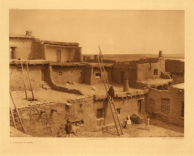 portfolio 17 plate no. 615 Corner of Zuni