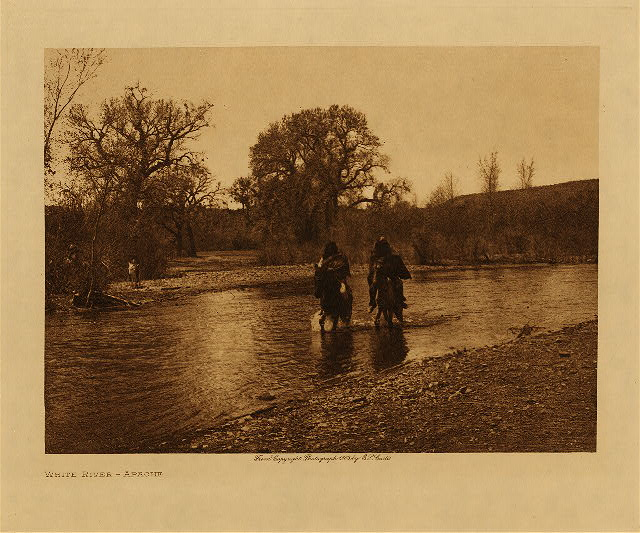 volume 1  facing: page  xii White River - Apache