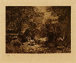volume 1 facing: page  xx Apache camp - photogravure plate