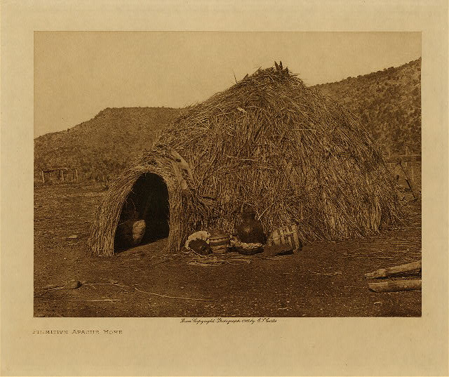 volume 1  facing: page  14 Primitive Apache home