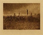 volume 1 facing: page  56 A Jicarilla feast march - photogravure plate