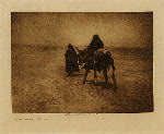 volume 1 facing: page  64 Into the desert - Navaho - photogravure plate