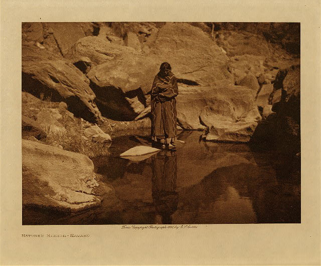volume 1  facing: page  66 Nature's mirror - Navaho