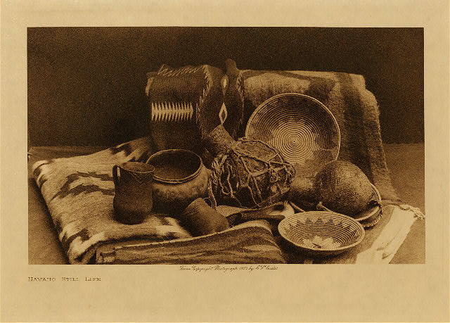 volume 1  facing: page  84 Navaho still life