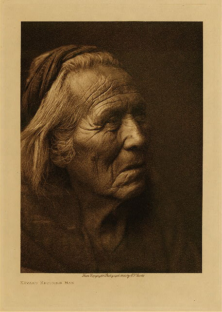 volume 1  facing: page  86 Navaho medicine-man