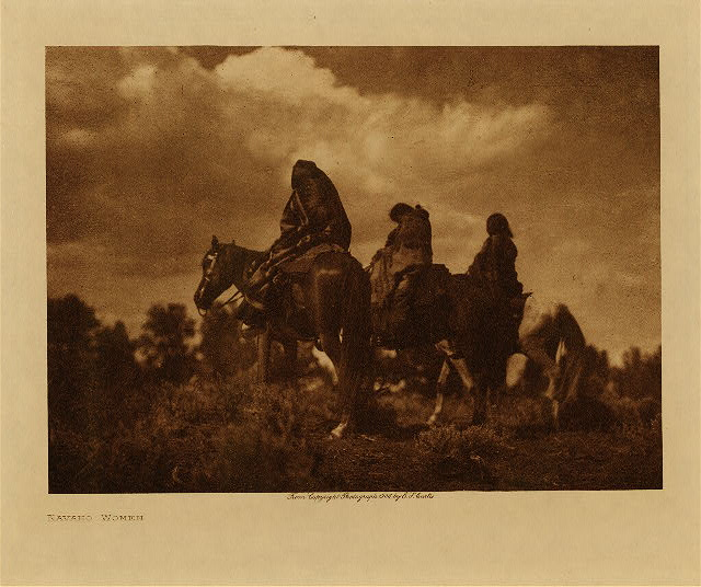 volume 1  facing: page  144 Navaho women