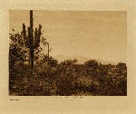 volume 2 facing: page  2 Pima-land - photogravure plate