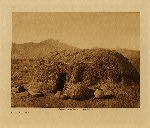 volume 2 facing: page  6 A Pima home - photogravure plate
