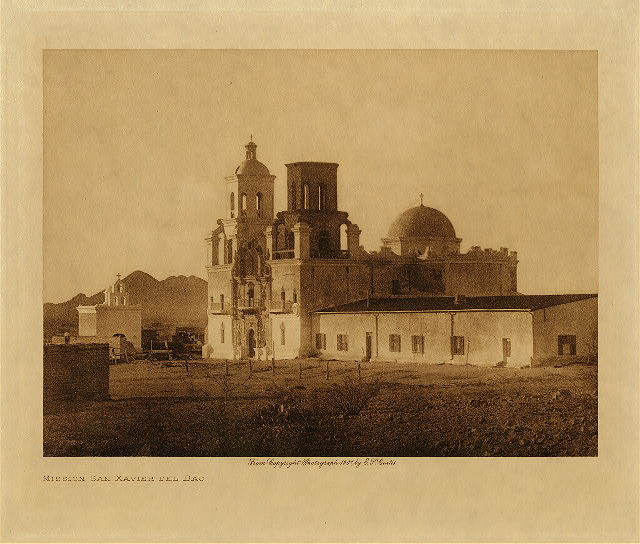 volume 2  facing: page  28 Mission San Xavier Del Bac