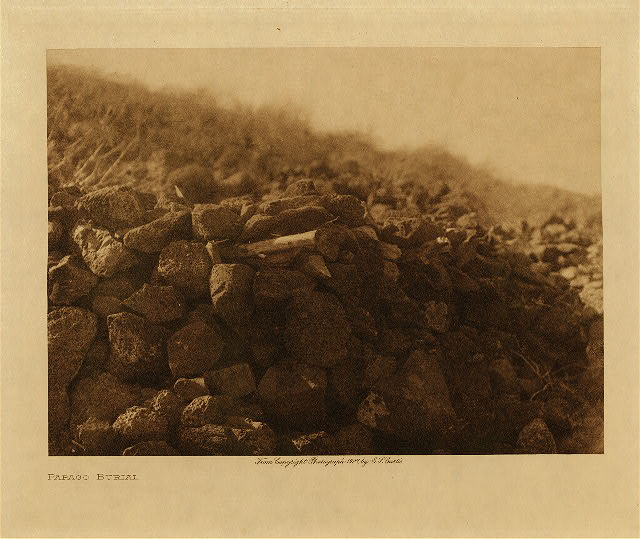 volume 2  facing: page  34 Papago burial