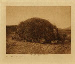 volume 2 facing: page  38a Papago primitive home - photogravure plate