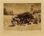 volume 2 facing: page  90 Walapai winter camp - photogravure plate