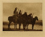 volume 3 facing: page  46 Custer's Crow scouts - photogravure plate