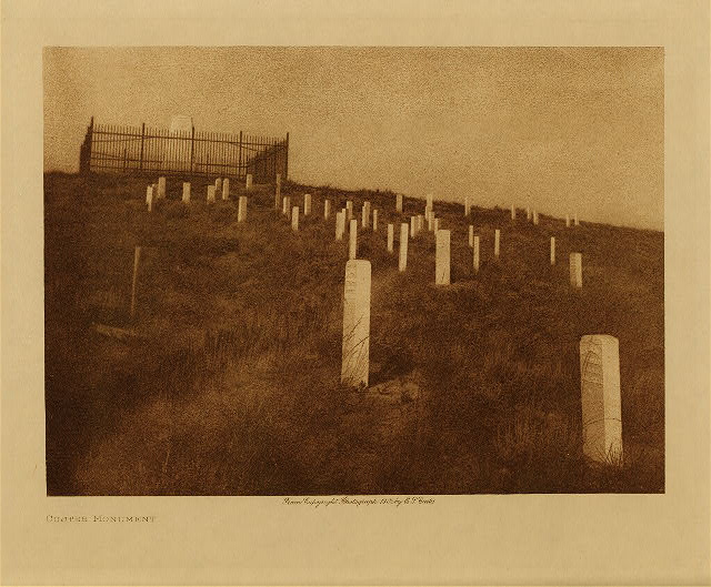 volume 3  facing: page  50 Custer monument