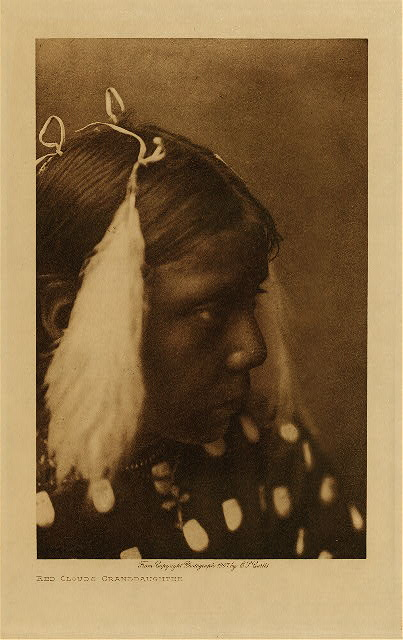 volume 3  facing: page  54 Red Cloud's granddaughter