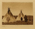 volume 3 facing: page  72 A prairie camp - photogravure plate