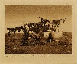 volume 3 facing: page  96 Drying meat - photogravure plate